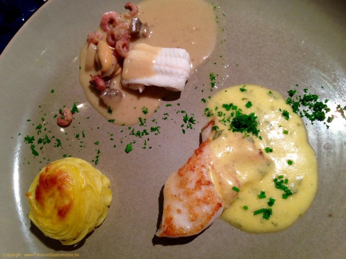 Restaurant Les Embruns - Turbot et Sole