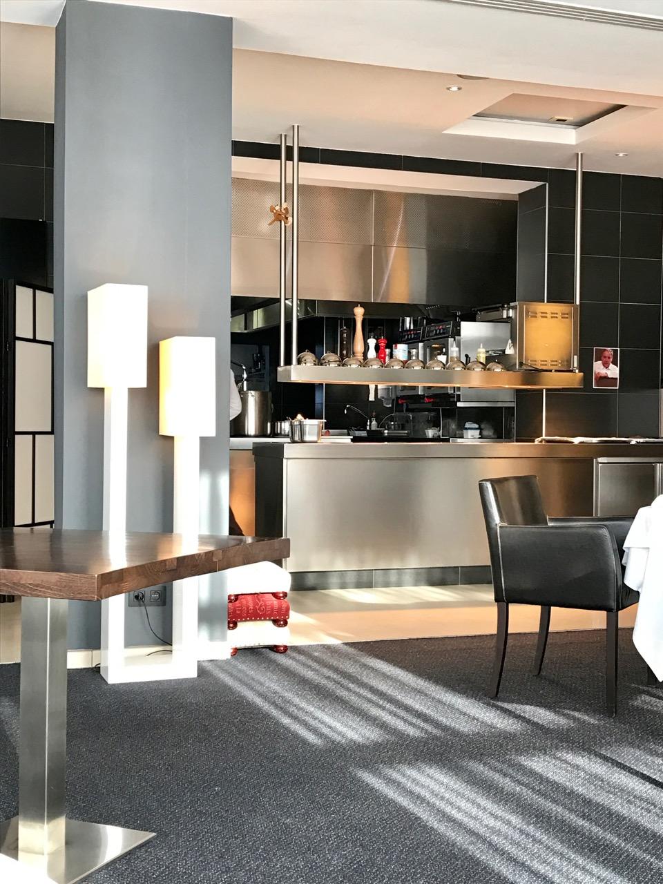 Restaurant Pouic Pouic - La cuisine ouverte
