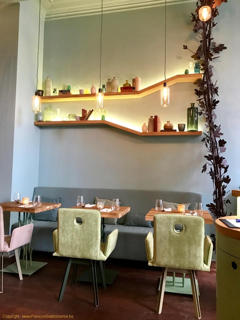 Restaurant San Sablon Bruxelles - Les tables