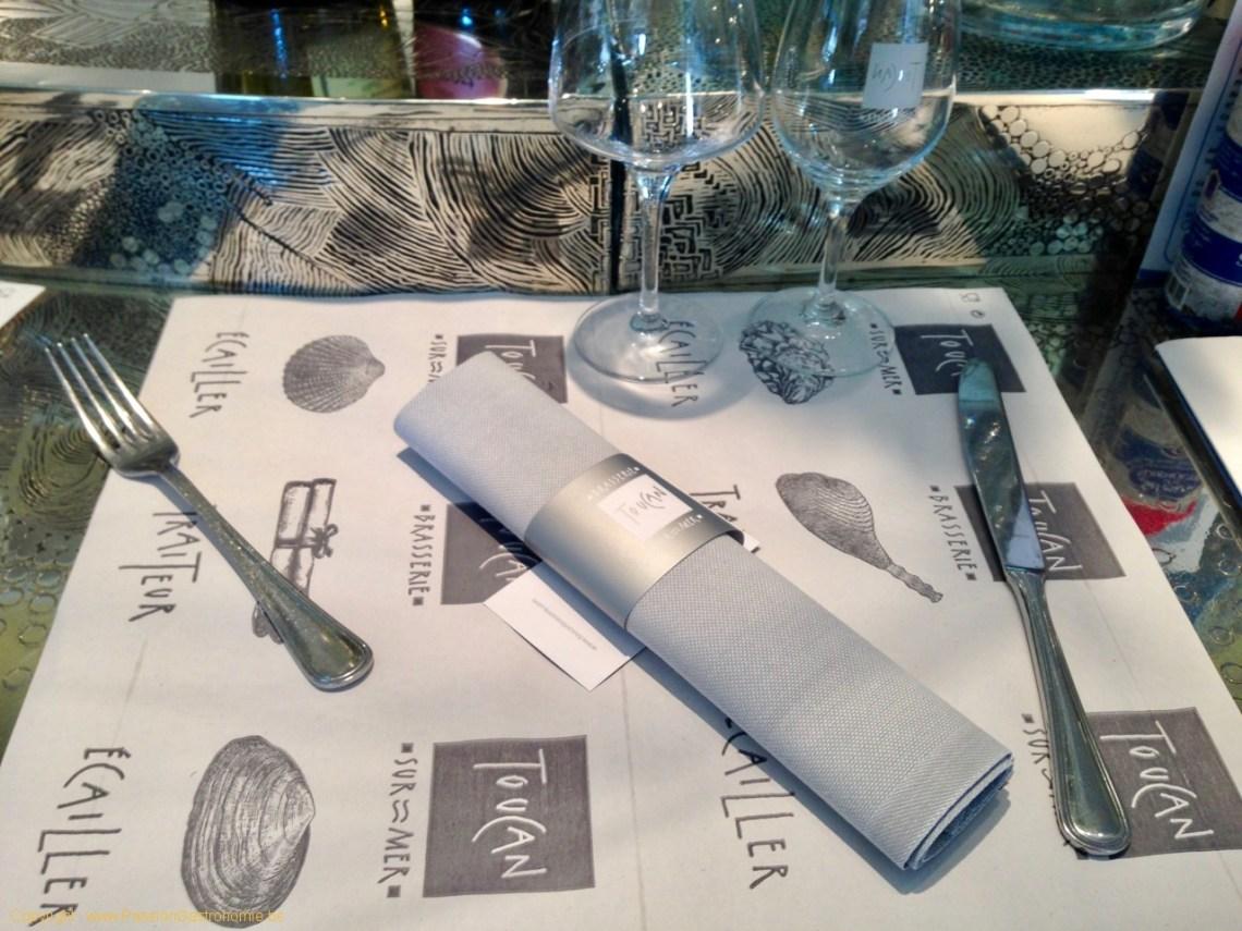 Brasserie Toucan Sur Mer - le comptoir