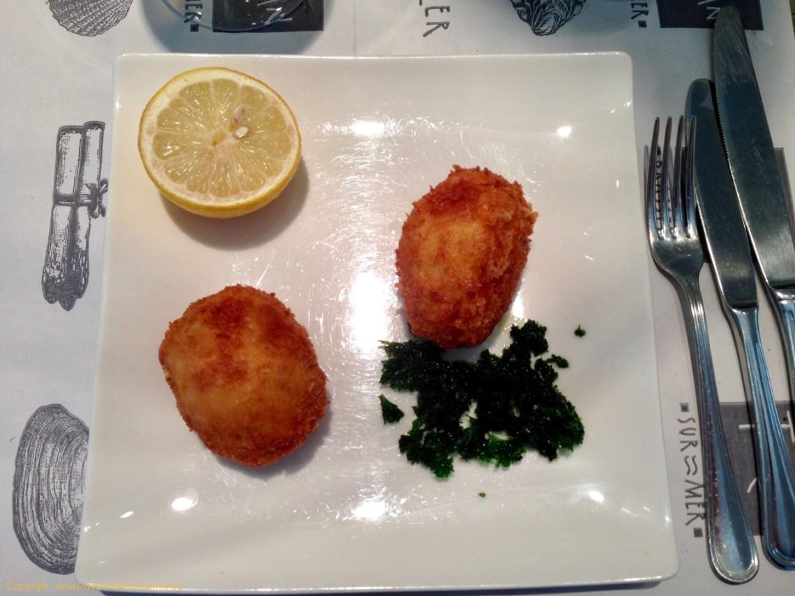 Brasserie Toucan Sur Mer - Croquettes de crevettes grises
