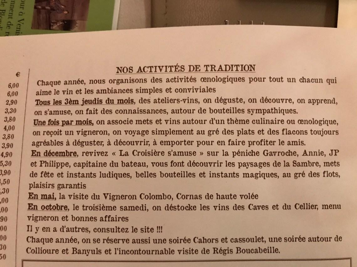 Restaurant Les caves de l'abbaye d'Aulne - Les événements