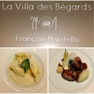 Restaurant La Villa des Bégards par François Piscitello à Embourg