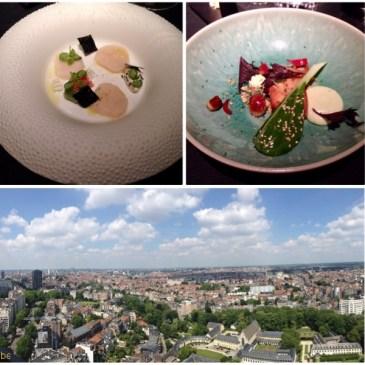 Restaurant La villa In The Sky par Alexandre Dionisio à Bruxelles