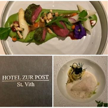 Hôtel Restaurant Zur Post par Eric Pankert à Saint-Vith