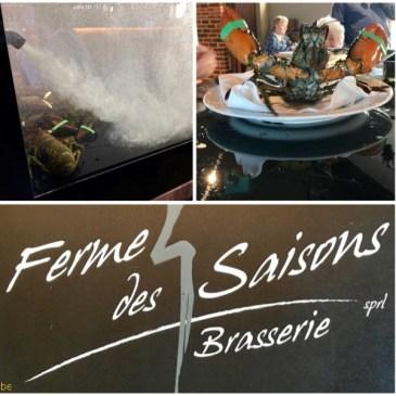 La Ferme des 4 saisons, restaurant à Bourlers (Chimay)
