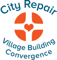 city repair village building convergence logo