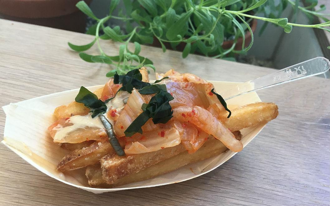 LOV - frites kimchi