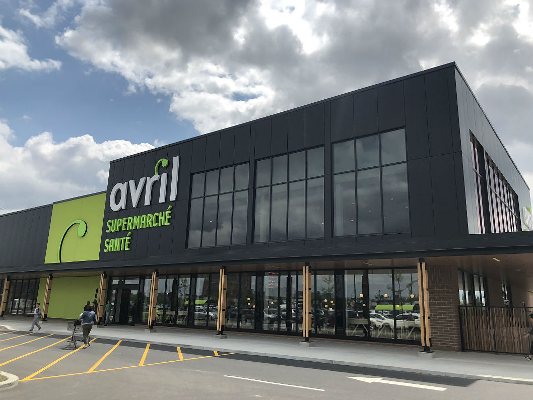 Le nouveau supermarché santé Avril est vraiment innovant!