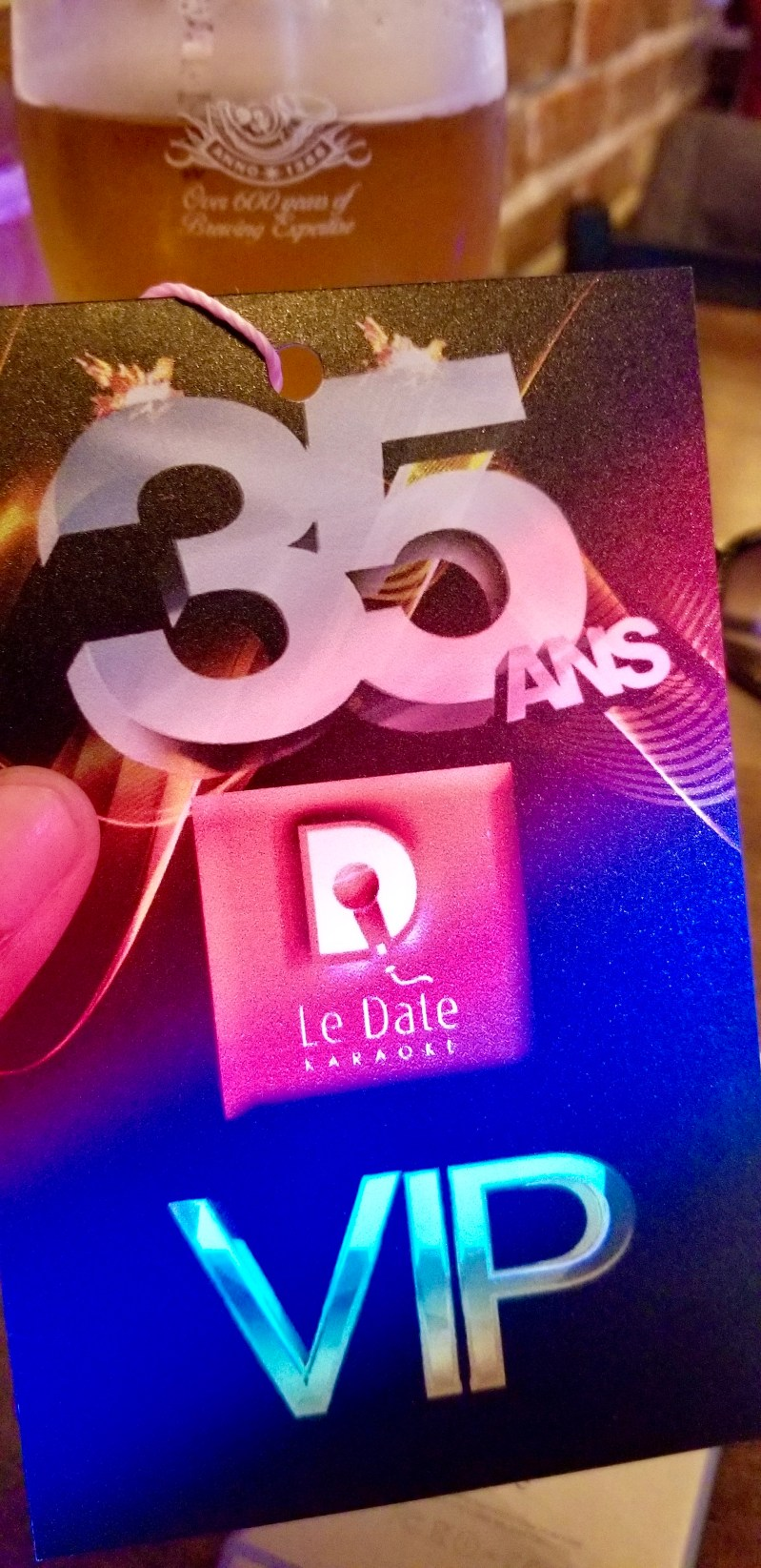 Le Club Date Karaoke 35 ans