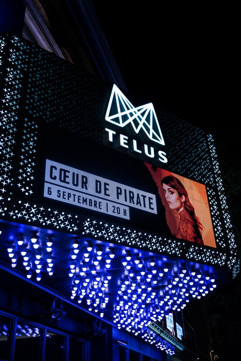 MTELUS Cœur de Pirate spectacle