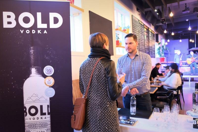 Bold Vodka soirée à Montréal
