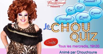 Vous craquerez pour les soirées quiz de Chouchoune!