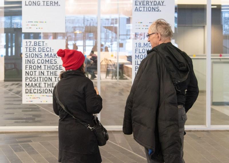 visiteurs Festival d'art souterrain photo Pierre-Luc Daoust Montréal