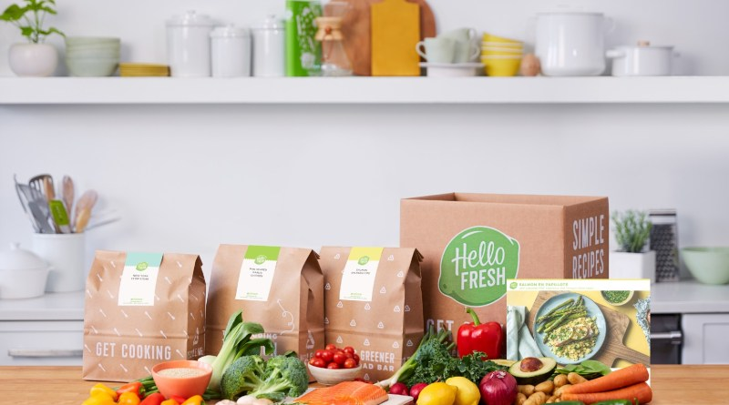 HelloFresh photo gracieuseté HelloFresh boite