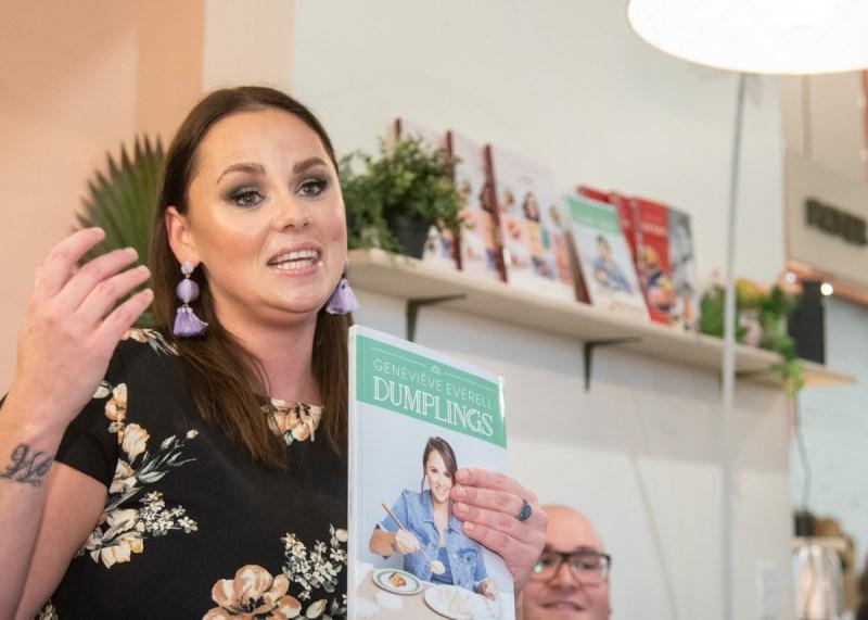 Lancement dumplings Geneviève Everell