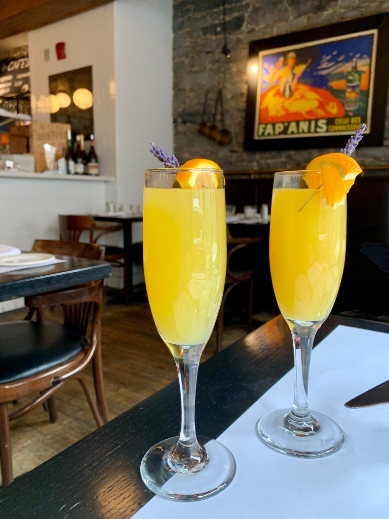Vive les mimosas photo Passion MTL
