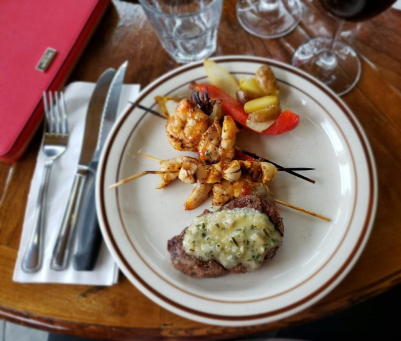 WEBER gril academy filet mignon crevettes photo Passion MTL