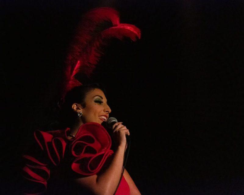 finale de la Compétition Imperial Burlesque chant