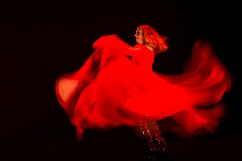 finale de la Compétition Imperial Burlesque danse
