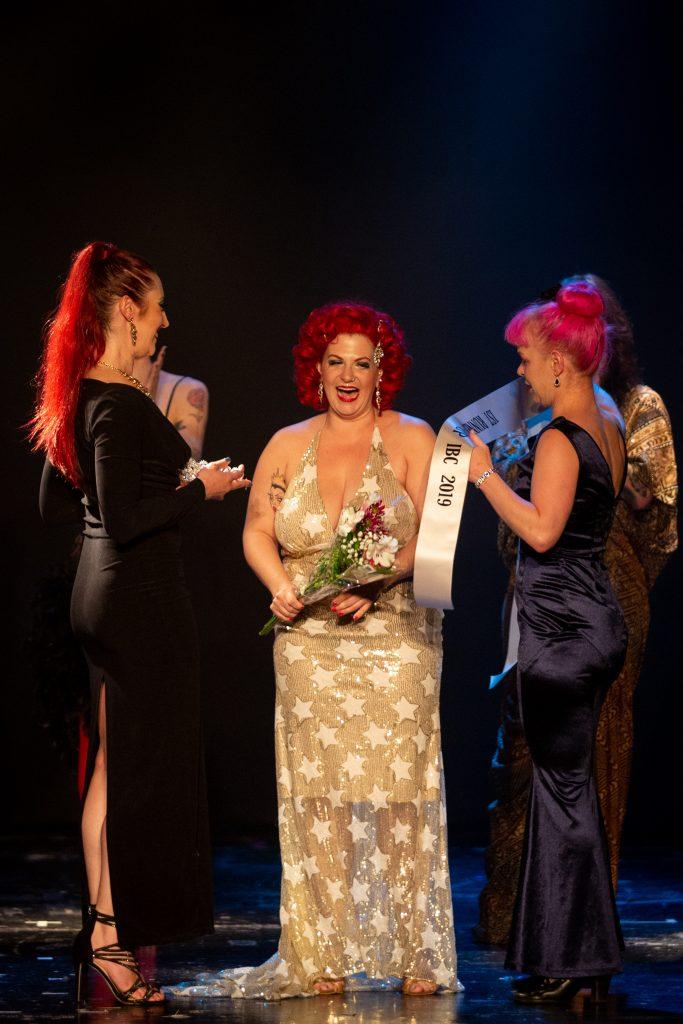 finale de la Compétition Imperial Burlesque gagnants