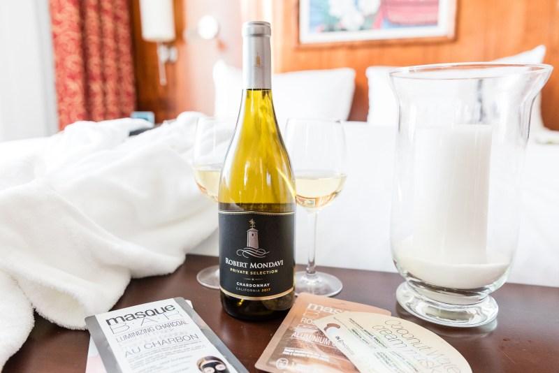 Photo ROBERT MONDAVI PRIVATE SELECTION, chardonnay, comme au spa meilleurs vins pour décrocher