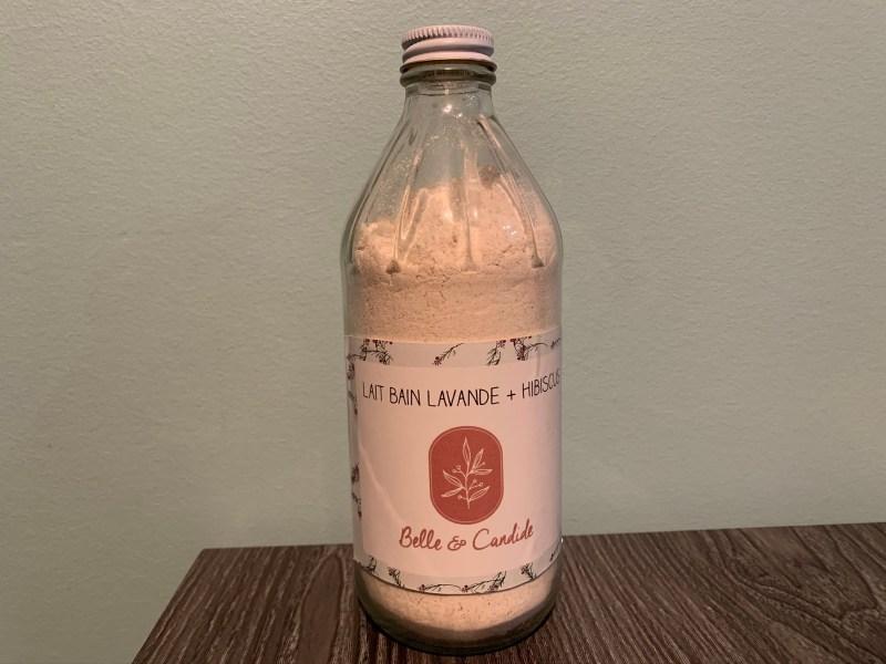 Laits de bain Atelier Candide photo bouteille