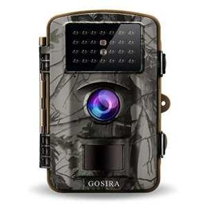 Gosira 12MP HD 1080p Wildlife détecteur de mouvement Camera avec vision de nuit–Blanc