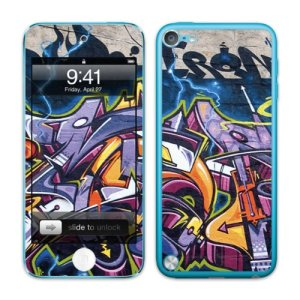 Skins, Autocollants et Stikers Vinyles Diabloskinz pour l'iPod Touch 5th Gen – Fire starter