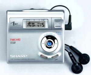 Sharp IM-DR 410 H Lecteur MD Portable