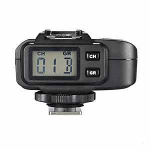 Godox x1r de c 32selens canaux 2,4GHz sans fil Hot–Shoe-Max Récepteur de déclenchement Flash pour Canon DSLR 400D/500D/Lot de 600D Set/700D/60D/6D/70D/7D/760d/1D Kit/5D/5D II/5D III Noir