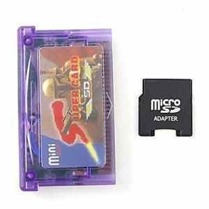 Mentalkase® Mini SD vers Super carte adaptateur pour GBA SP NDSL + TF vers mini adaptateur pour carte SD