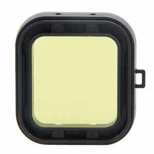 Asiproper filtre étanche pour Xiaomi Yi 4K jaune Rouge Violet gris objectif