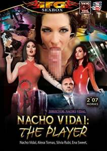 DVD pornographique Nacho Vidal – Nacho Vidal : The Player