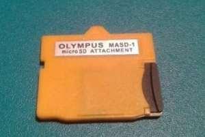 lecteur de carte mémoire micro SD vers XD Adaptateur convertisseur pour Olympus Masd-1SDHC SDXC à partir de