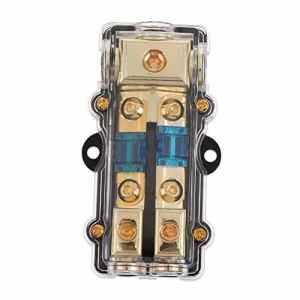 Sharplace Boîte De Distribution De Courant Fusible Pr Voiture Système De Audio 60A