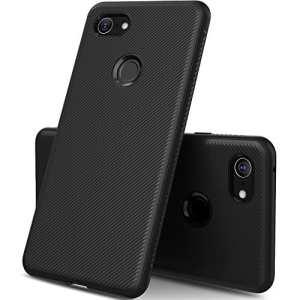 GeeMai Coque Google Pixel 3 XL, Ultra Mince Silicone Cas Transparent Transparent Cas Souple TPU Cas Mobile Téléphone Case pour Google Pixel 3 XL Smartphone(Noir)