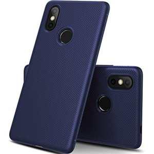 iBetter Coque Xiaomi Mi 8, [Souple Etui de protecteur] Nouveau modèle Shock absorption Coquille arrière Souple, Housse Etui TPU Silicone Coque en silicone pour Xiaomi Mi 8 Smartphone(bleu)