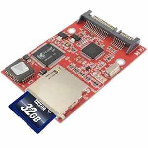 Adaptateur de Carte SDHC/SD A SATA