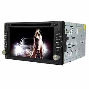 Autoradio Universel 6.2 Pouces Windows CE 6.0 Écran TFT in-Dash Lecteur DVD de Voiture avec Bluetooth/GPS / RDS