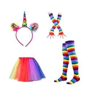 BESTOYARD Tutu Costume Party Princesse Danse Robe Ruffle Tiered Photographie Layered Tutu Jupe Robe Pour Enfants