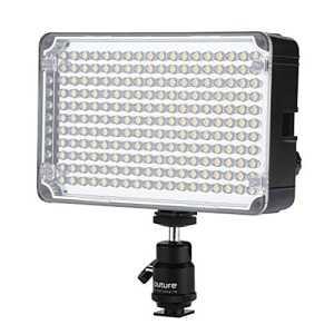 BON cadeau Apture Amaran H198 AL-198 LED C95 + LED temperature de couleur 5500K reglable pour CANON Nikon Sony