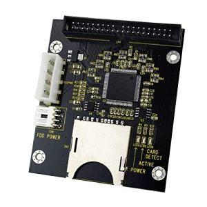 SD/SDHC/MMC A Carte de Adaptateur IDE Mâle de 3,5Broches de 3,5Pouces