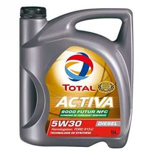 TOTAL ACTIVA 9000 5W30 D 5L