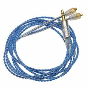 Wagnus. Earphone RE cble Lune Bleue 3,5mm 3pole Single-End MMCX Type