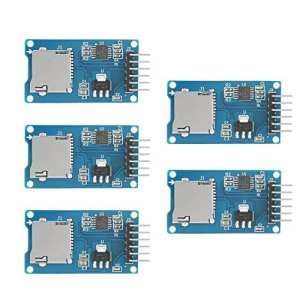 Xinrub 5PCS Carte Micro SD SDHC Mini TF Module Shield pour Arduino Raspberry SPI