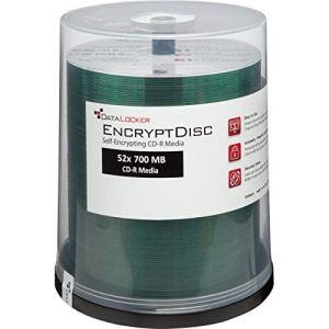 Datalocker securedisk CD-R 700MB 100pièce (s)–CD-RW vierges (CD-R, 700MB, 100pièce (s), 52x)