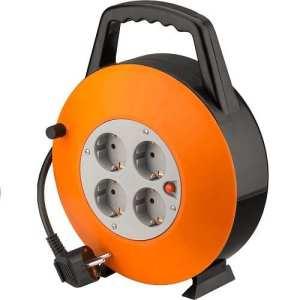 cablepelado–Rehausse électrique 4prises schuko 15mètres