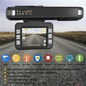 Détecteur de radars avec caméra HD DVR par SmartPro