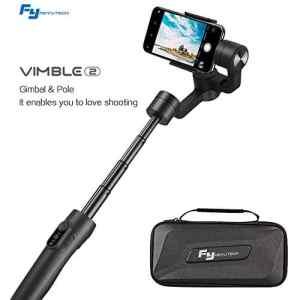 FeiyuTech Vimble 2 Gimbal pour Stabilisateur Smartphone Stabilisateur de Cardan Extensible-Noir